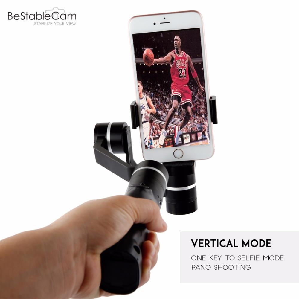 BeStableCam Horizon HF3 Handheld Smartphone Gimbal Stabilizer support 360 degree panoramic rotating video making