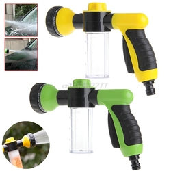 8in1 High Pressure Spray Car Wash Snow Foam Water Gun Car Clean Pipe Washer Home #H0VH#