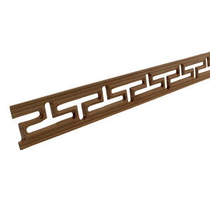 Image 5 - ตกแต่งเส้นดอกไม้ไม้แกะสลักรูปลอกมุมA Ppliquesกรอบผนังเฟอร์นิเจอร์แกะสลักไม้ไม้รูปแกะสลักงานฝีมือบ้าน100เซนติเมตร