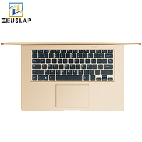 14inch Ultraslim 8GB RAM 500GB HDD Windows 7 10 System Intel Quad Core With Russian Keyboard
