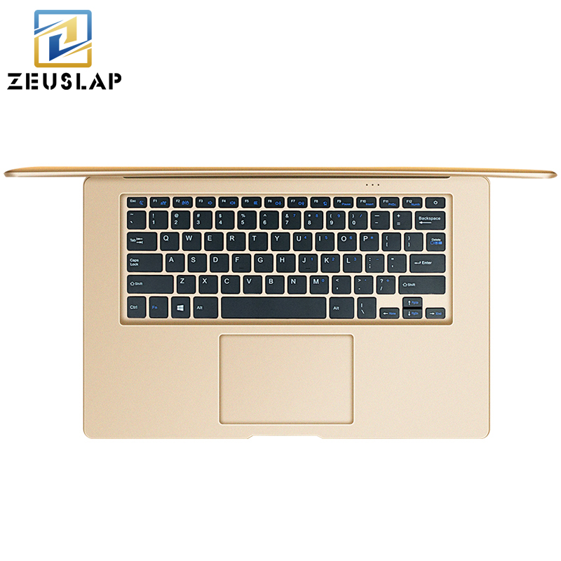 2017 New 14inch 8GB RAM+500GB HDD Windows 7/10 System Intel Quad Cores Russian Keyboard Laptop Notebook Computer Free Shipping 14 inch laptop computer 4gb ram