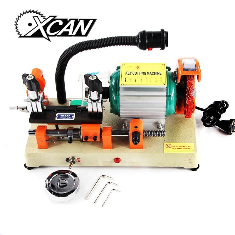 Xcan горизонтальные ключевой резец ключевые Резка машины для дублирования ключи безопасности слесарь Инструменты замок Палочки 220 В/110 В