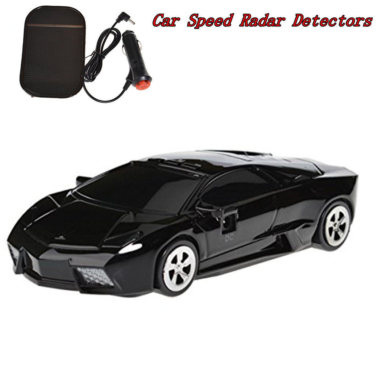 Car Radar Laser Detection Speed Anti Police GPS 360 Degree Detector Voice Alert Safety in Radar Detectors from Automobiles Motorcycles