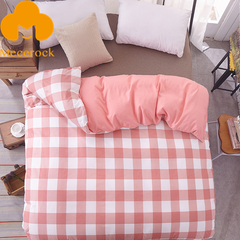 MECEROCK 1 PC Environmental Printing and Dyeing Super Soft Duvet Cover Polyester Home-textile 4 Size For Choose ...