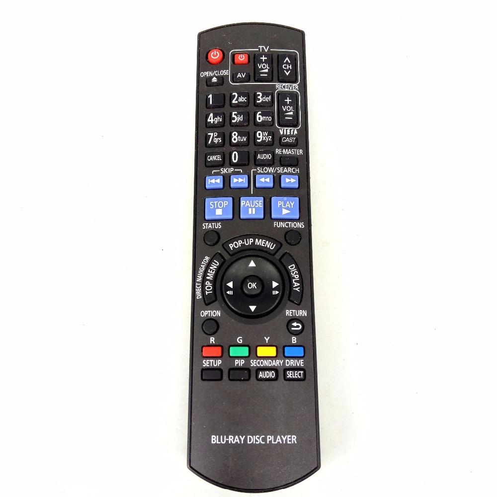 Used 70% NEW Original for PANASONIC N2QAYB000380 BLU RAY DVD RECORDER REMOTE CONTROL DMR-BD60/80 проигрыватель blu ray lg bp450 черный