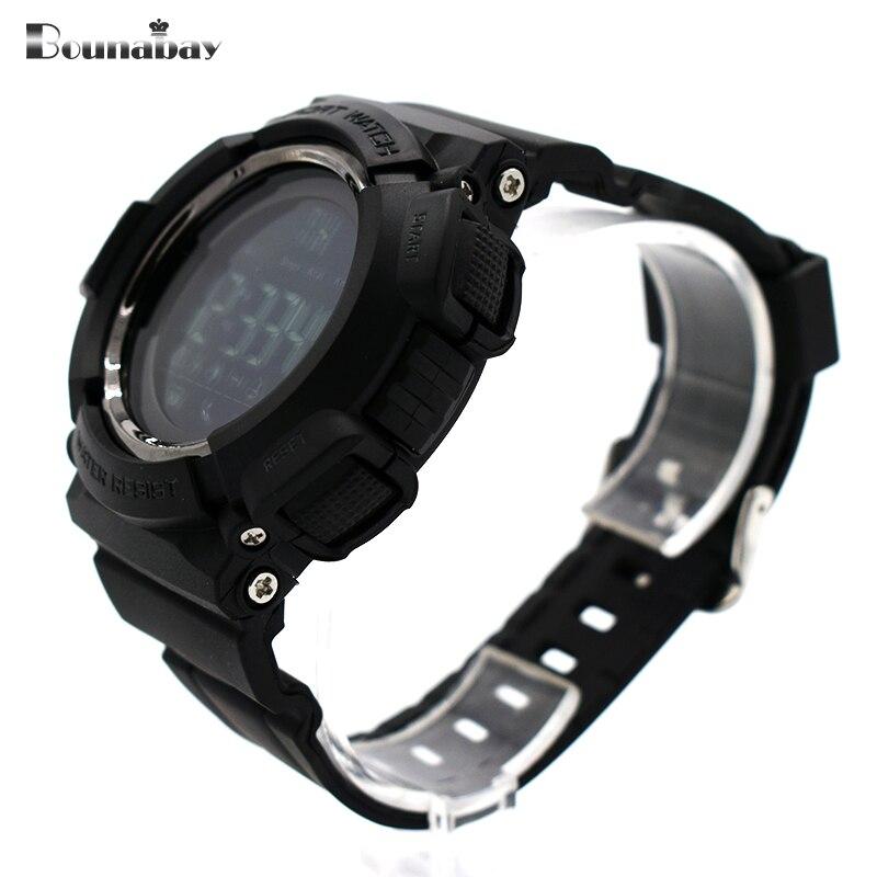 Водонепроницаемые наручные часы для мужчин digitais часы Бег мужские человек часы тенденции моды сигнализации Бег Популярные точно военные