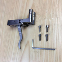 Stainless Steel Catapult Release wrist strap shooter Bow And Arrow Accessories DIY Slingshot