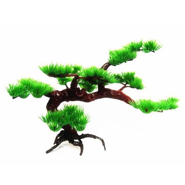 Mayitr Аквариум Рок бонсай орнамент аквариум Рокери искусственная сосна дерево декоративные растения аксессуары для аквариума декорации