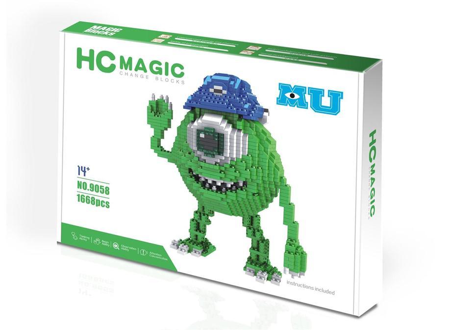 HC magic blocks mike 9058