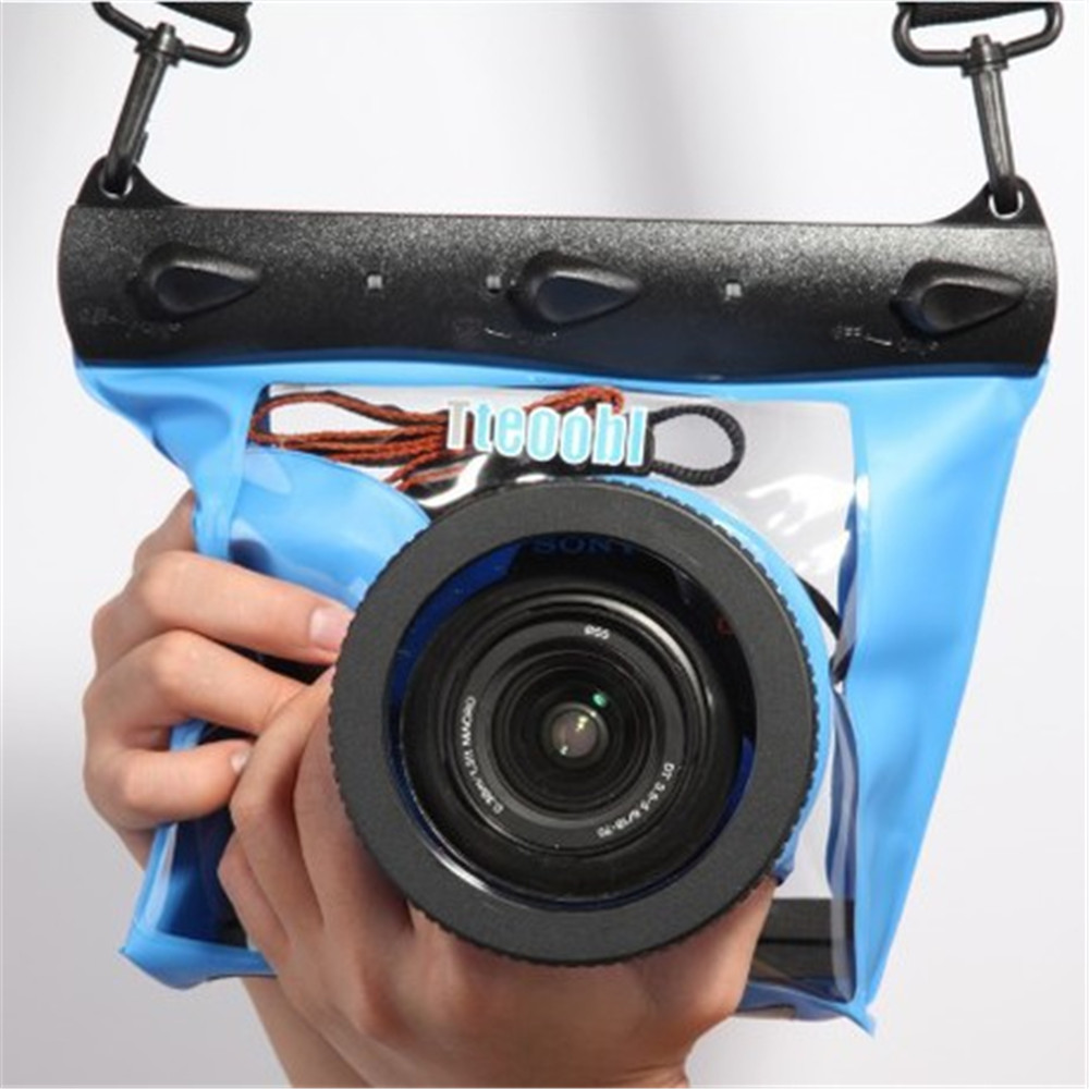 Photo Camera Waterproof Dry Bag Underwater Diving Housing Case Pouch Swimming Bag for camera diving bags Free shipping стоимость