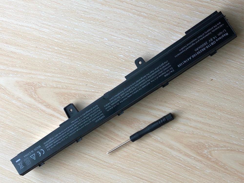 Նոր մարտկոց ASUS X451 X551 X451C X451M X551C X551M A31N1319 - Նոթբուքի պարագաներ - Լուսանկար 5