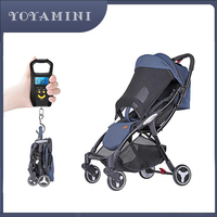 Yoya mini baby stroller light portable umbrella can sit lie can board baby baby stroller factory direct free shipping