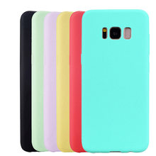 Soft Silicone Case For Samsung Galaxy S4 S5 Neo S6 S7 Edge S8 S9 Plus Note 3 4 5 8 9 Ultra thin TPU Cell Phone Back Cover(China)