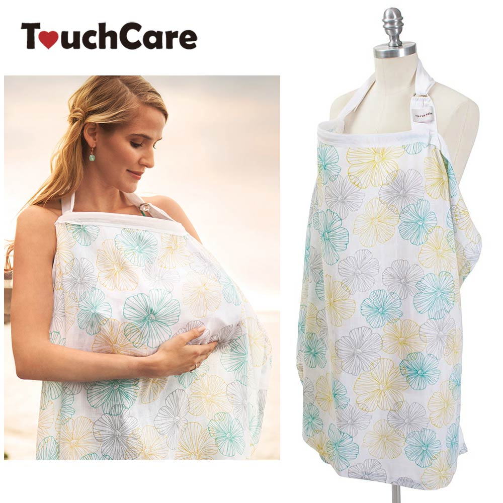 Clearance Breathable Baby Nursing Cover Infant Breast Feeding Large Muslin Cloth Breastfeeding Cover Poncho Maternity Apron