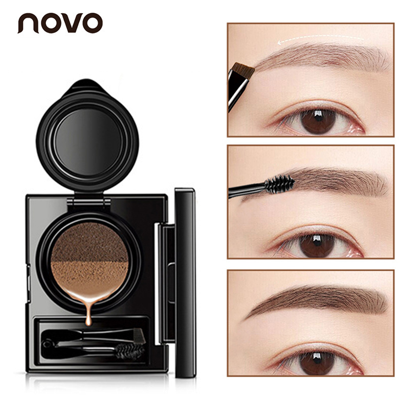 Back To Search Resultsbeauty & Health 1pc Eyebrow Dye Cream Eyebrows Powder Natural Air Cushion Double Color Eyebrows Seal Waterproof Mascara Eye Makeup Cosmetics