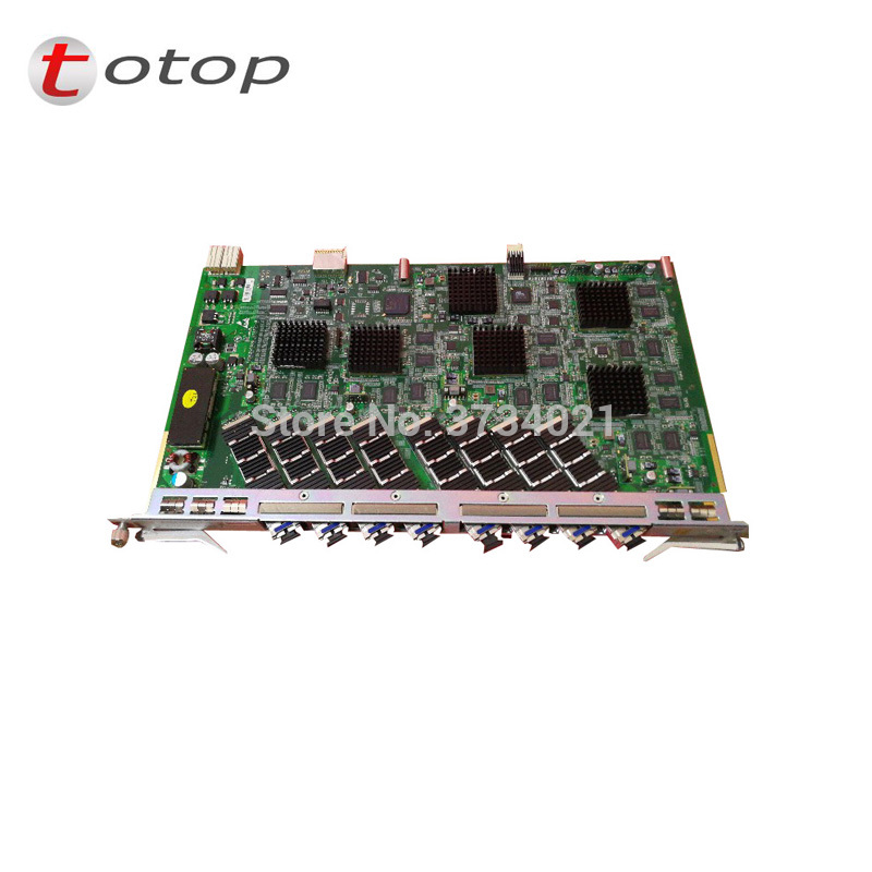 GTXO ZTE OLT 10G GPON Board Service Card GTXO With  8 XFP Module For C300 And C320