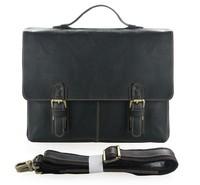 100 Guarantee Genuine Leather Free Ship Mens Briefcase Handbag Laptop Bag 7090A