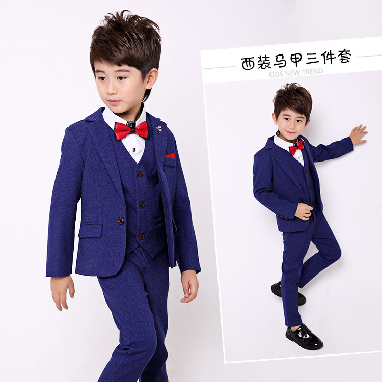 Boy Suits For Weddings Children Clothing Set Boy Suit Set Formal For Autumn Children Suits Coats lottery boy