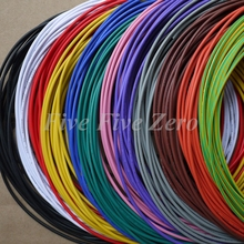 28AWG   PVC Insulated Tinned Copper Wire Electronic Wires  eco PVC cable UL1007 AWM