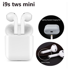 I9S TWS Wireless Earphone Portable Bluetooth Headset Invisible Earbud for alli Mobile iodis Android Phones Pk i12 tws/i10 tws/i7 цена