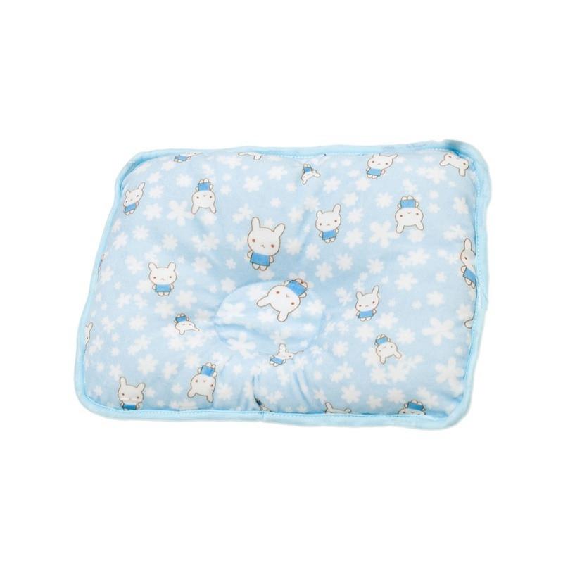 Baby Pillows Soft Cotton Cartoon Newborn Baby Pillow Flat Head Sleeping Position Shaping Support Pillow Prevent