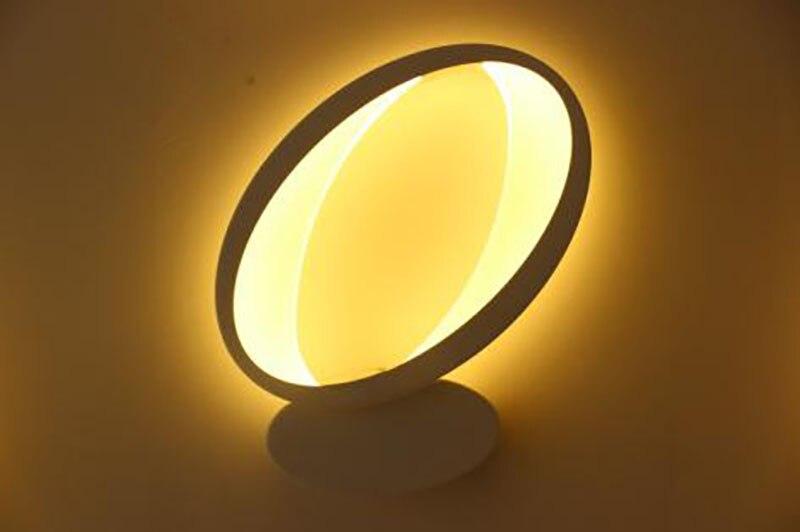 16W Q Shape LED Wall Lamp Bedside Modern Living Room Corridor Hallway Stairs Lights Pathway