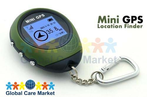 Mini GPS Receiver + Location Finder w/ Display Screen and Keychain (Freeshipping, High Quality, Best Price!)