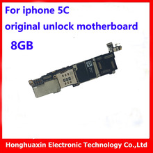 for iphone 5C original motherboard Factory unlock free iCould 8GB mainboard good working logic board full function IOS system