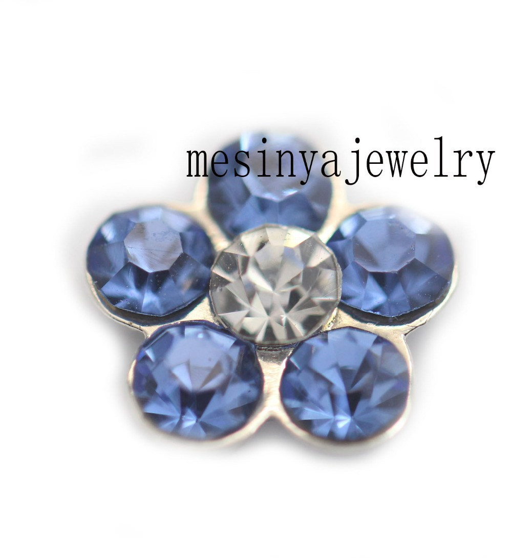 10pcs March birthday flower floating charms for glass locket Min amount $15 per order mixed items, FC-962