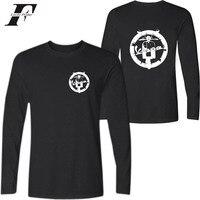 2017 3d imprimé t-shirts Vespa Vintage Moto Cool Mode Vêtements Casual fitness T-shirt hommes Femmes À Manches Longues t chemises