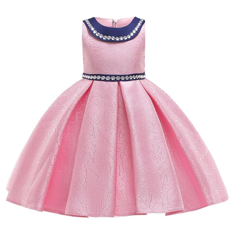 2020 New Kids Dress Girl Prom Dress Baby Flower Girl Princess Dress Wedding Party Costume Children's Clothing Tutu Costume L5108