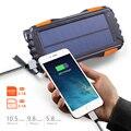 Easyacc Солнечный внешний аккумулятор 20000 мАч IP67 водонепроницаемый внешний аккумулятор портативное зарядное устройство для мобильного телефо...