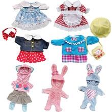 New Born Doll-Accessories Headwear Wedding-Dress Bjd Doll Suit Girls Fit Cloth 25cm Toy