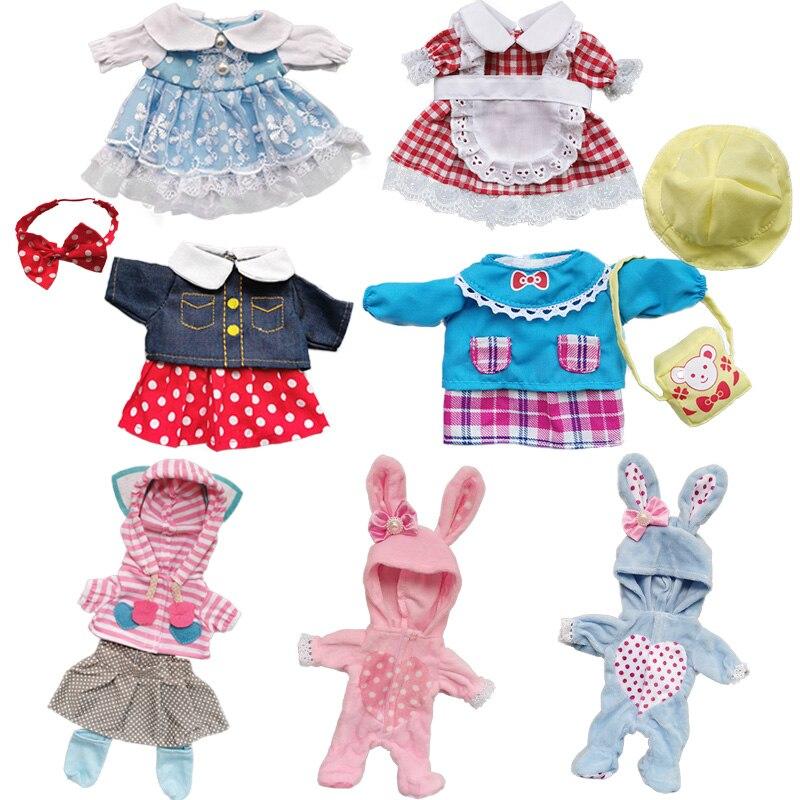 Poupée vêtements Fit 25cm bébé poupée jouet 1/6 BJD poupée nouveau-né poupée accessoires mignon robe de mariée chapeaux costume filles cadeaux