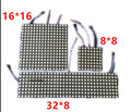 6*6 16*16 8*32 Pixels 36 pixels 256 Pixels WS2812B Digital LED Flexível Painel Individualmente DC5V endereçável Cor Sonho Cheio