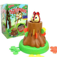 Novelty Tricky Jumping Squirrel Toy for Kids and Adults Funny Lucky Game Interactive Gag Toys Funny Board Game Gifs for Kids