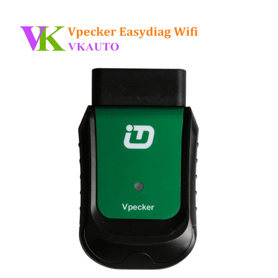 VPECKER Easydiag V10.2 Wifi Wireless OBDII Full Version Diagnostic Tool with Special Function Support WIN 10