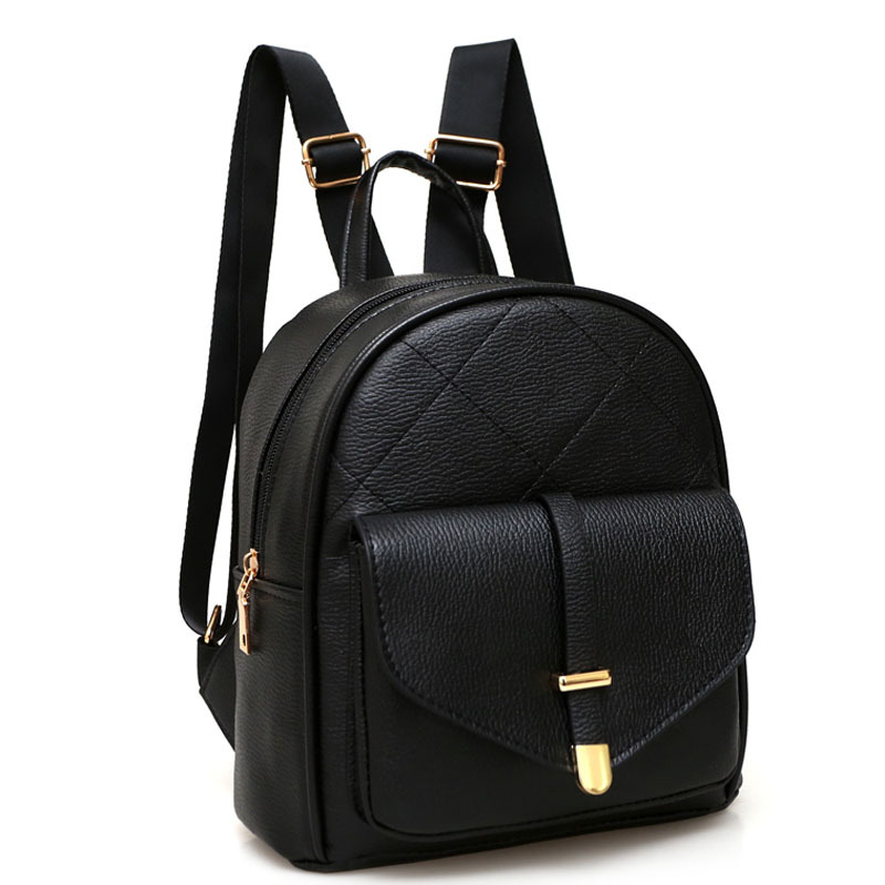2017 fashion brand leather women small backpacks Casual Black School Bags For Teenager Girls Vintage ladies travel bag sac a dos vintage casual leather travel bags famous brand school backpacks women bag mochila backpack lovely girls school bags ladies bag