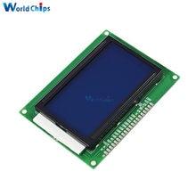 12864 128x64 punktów graficzny niebieski kolor podświetlacz wyświetlacza lcd moduł dla Arduino Raspberry Pi