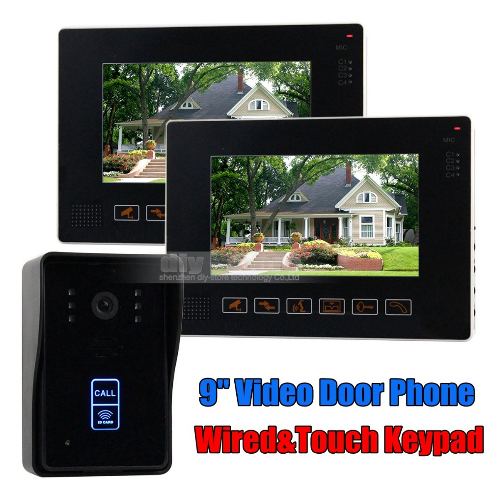 Diysecur Compatible Cctv Video Door Phone Intercom