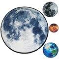 Серый Moon/Stars/Mars/Blue Earth дизайн мягкий толстый коралловый бархат круглый ковер и коврик для детской гостиной нескользящий абсорбирующий