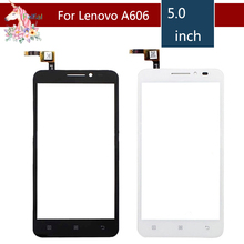 5.0 For Lenovo A606 A 606 LCD Touch Screen Digitizer Sensor Outer Glass Lens Panel Replacement цена