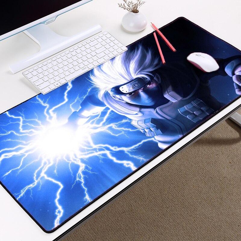Mairuige Anime Comic Mousepad Naruto Hatake Kakashi Creative Mousepad RubberTablemat Laptop Computer Antiskid Gaming Mousepads