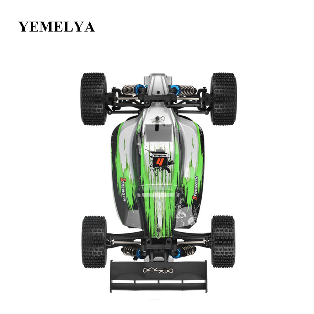A959 - A 1:18 RTR 35km/h 2.4GHz 2CH RC Car Splashproof Off-road Racing Car High Speed Stunt SUV Toy Gift For Boy rc car 2 4g 1 18 scale remote control off road racing car high speed stunt suv toy gift for boy rc mini car