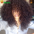 Mongolian Afro Kinky Curly Hair With Closure 7a Kinky Curly Hair With Closure Queen Hair Products With Closure 3 Bundles