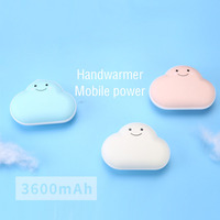 Star Cloud Heater Usb Charging Hand Warmer, Warm Baby Mini Electric , Portable Mobile Power, Cake