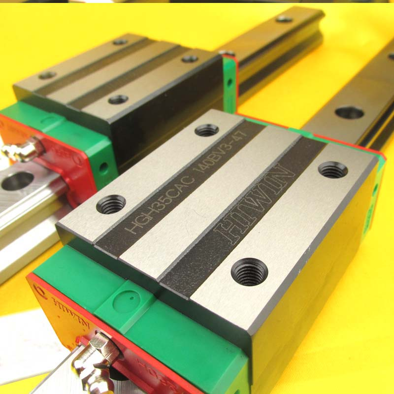 HGH35CA 100% New Original HIWIN Brand Linear Guide Block For HIWIN Linear Rail HGR35 Cnc Parts free shipping to argentina 2 pcs hgr25 3000mm and hgw25c 4pcs hiwin from taiwan linear guide rail