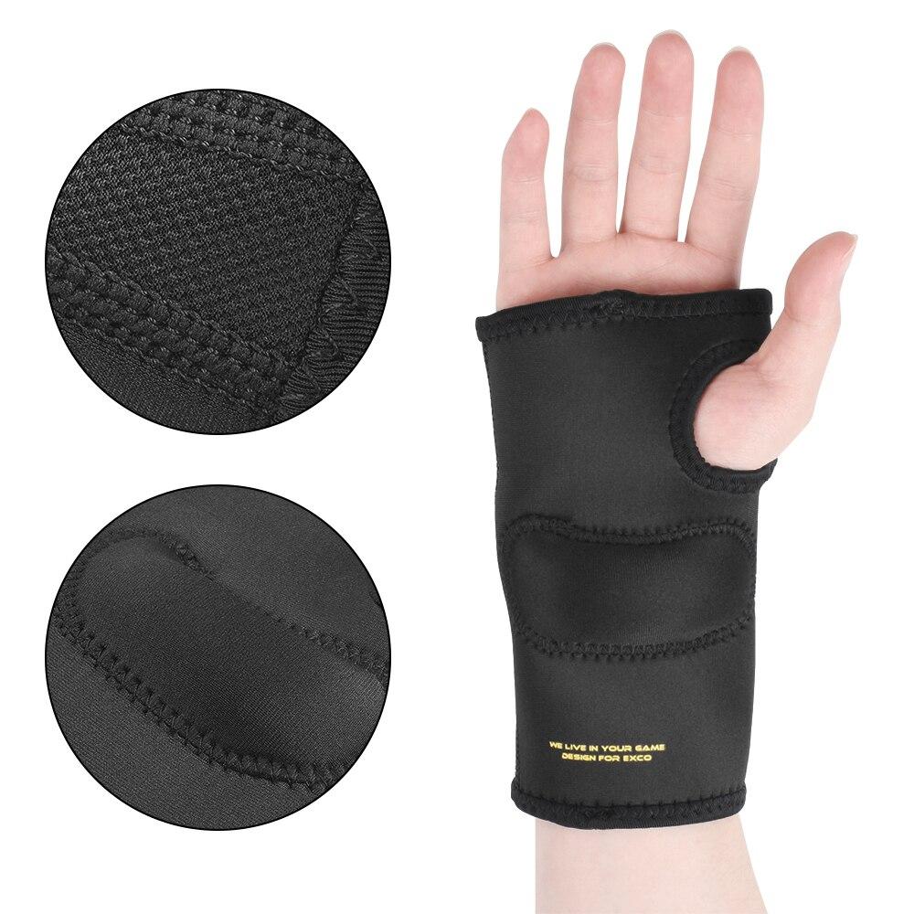 Luvas de jogo sem dedos profissional almofada do mouse ergonômico descanso de pulso borda macia alívio da dor compressão luva para computador gamer