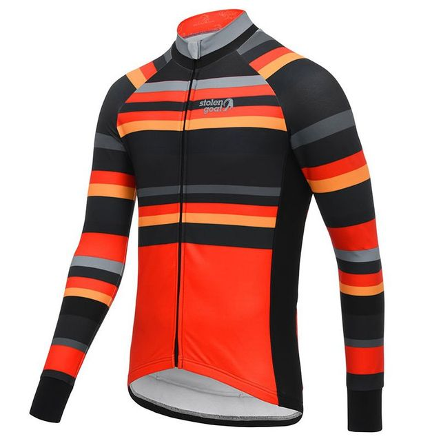 Stolen goat Long sleeve Orkaan Everyday LS Jersey Mens Blue cycling jersey bretelle ciclismo man MTB road bike racing clothing 5