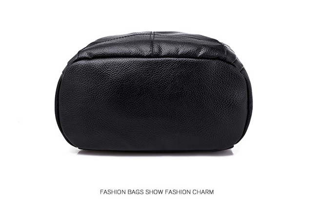 HTB1lmXnXULrK1Rjy0Fjq6zYXFXaU Minimalism Female Backpack Pu Leather Youth Women Bagpack Beautiful Fashion Girl Casual Rucksacks Lady Shoulder Bag 2019 New